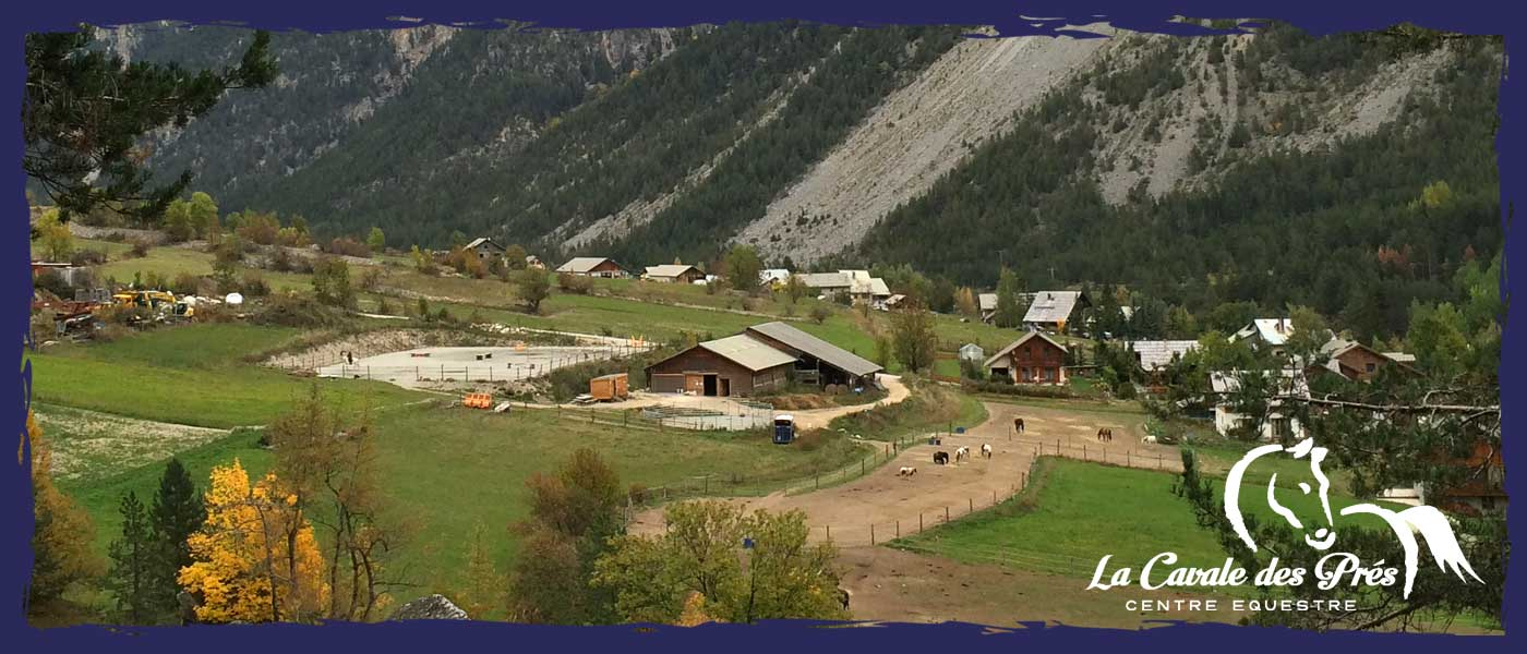 poeny club - balade - cours equitation cheval et poney briancon, serre chevalier